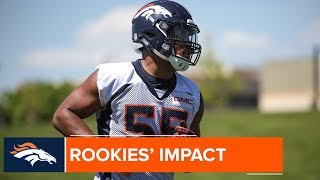 countdown to broncos camp rookies that will make an impact