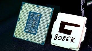 i7-8086K Geköpft und auf 7244 MHz übertaktet - Computex 2018