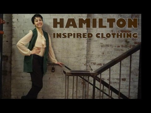 Hamilton Inspired Clothing