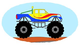 Все серии подряд - Сборник про Монстр-траки | Monster trucks - Compilation For Kids