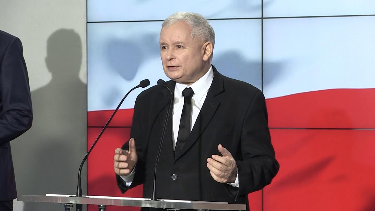 J. Kaczyński, J. Gowin, Z. Ziobro – Oświadczenie liderów Zjednoczonej Prawicy