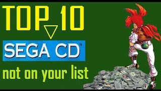 Top 10 Sega CD Games - Not On Your List by SpitDragon