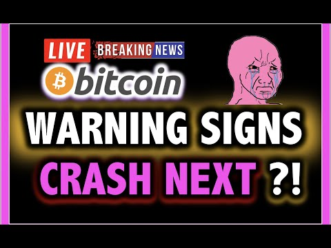 NO!! BITCOIN CRASH NEXT?!! **WARNING** 💥 LIVE Crypto Analysis TA & BTC Cryptocurrency Price News Now