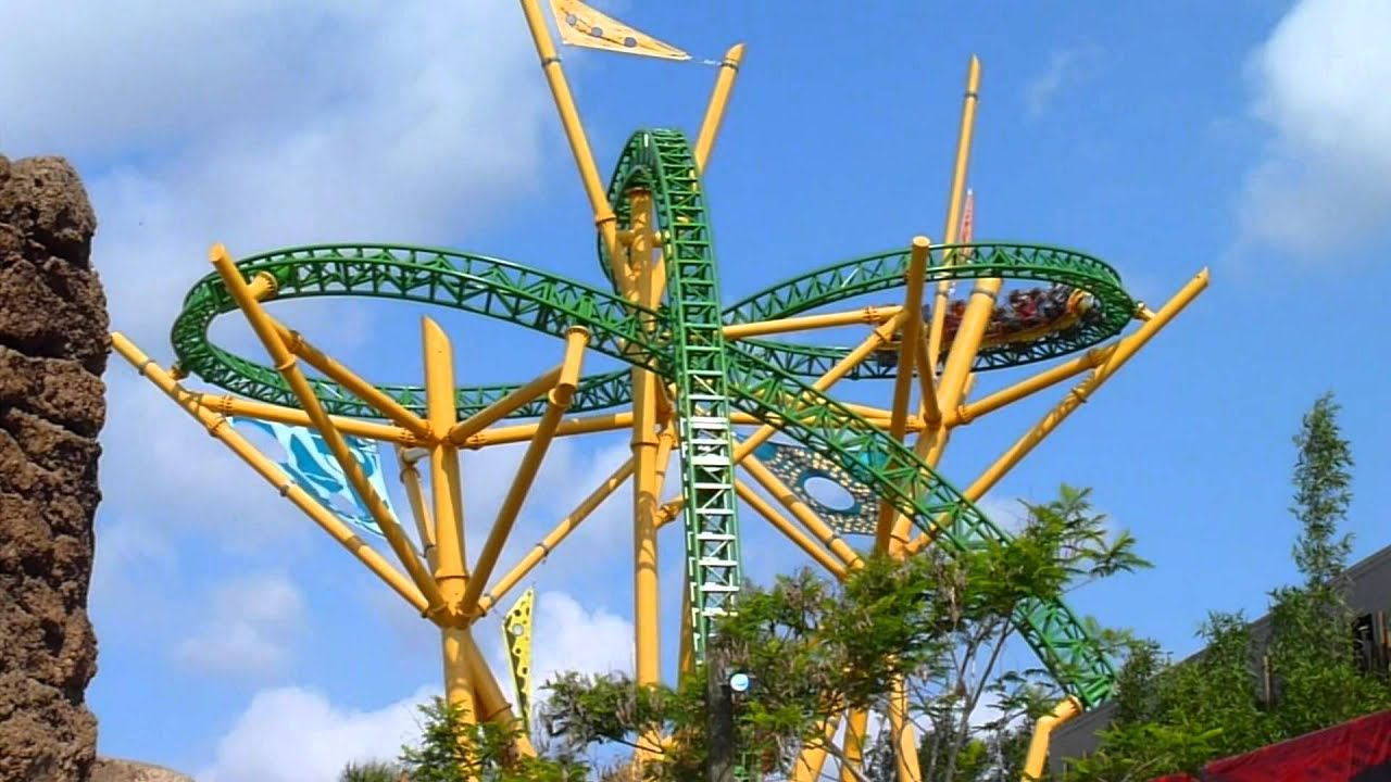 New Cheetah Hunt Roller Coaster At Busch Gardens Tampa   YouTube