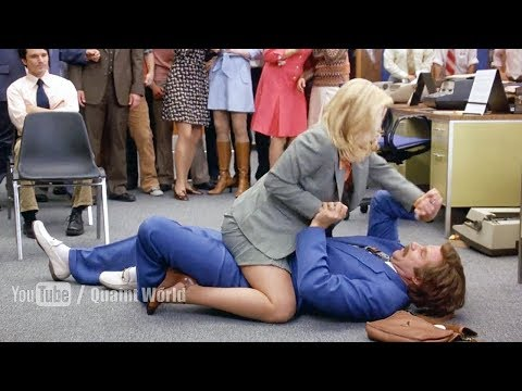 Funny Physical Fight  Between Will Ferrell and Christina Applegate  Anchorman 2004