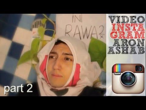 WOW ! Video Lucu Instagram Aron Ashab Baru 10/14