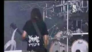 Gambar cover Mayhem - Freezing Moon (at Wacken '04)