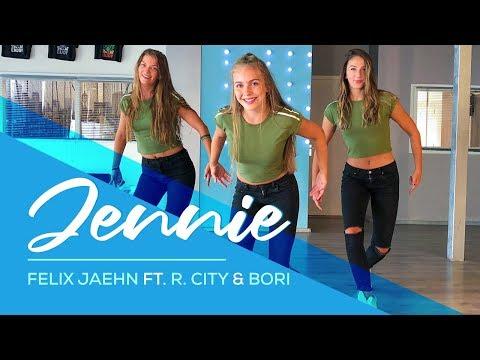 Felix Jaehn - Jennie (feat. R. City, Bori) - Easy Fitness Dance Choreo - Baile - Choreography