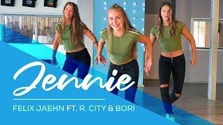 Felix Jaehn - Jennie (feat. R. City, Bori) - Easy Fitness Dance Choreo - Baile - Choreography
