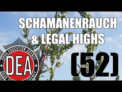 Schamanenrauch & Legal Highs (RE-UPLOAD) | Drug Education Agency (52)