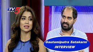 Krish and Shriya Saran Interview on Gautamiputra Satakarni Movie | Telugu News | TV5 News