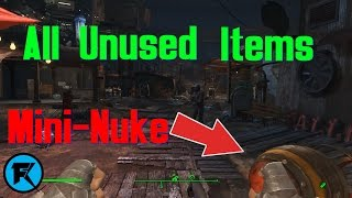 Fallout 4   All Unused Items