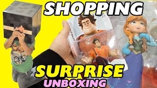 Disney Infinity Shopping: Wreck It Ralph + Frozen Toy Box Set - Surprise / Unboxing