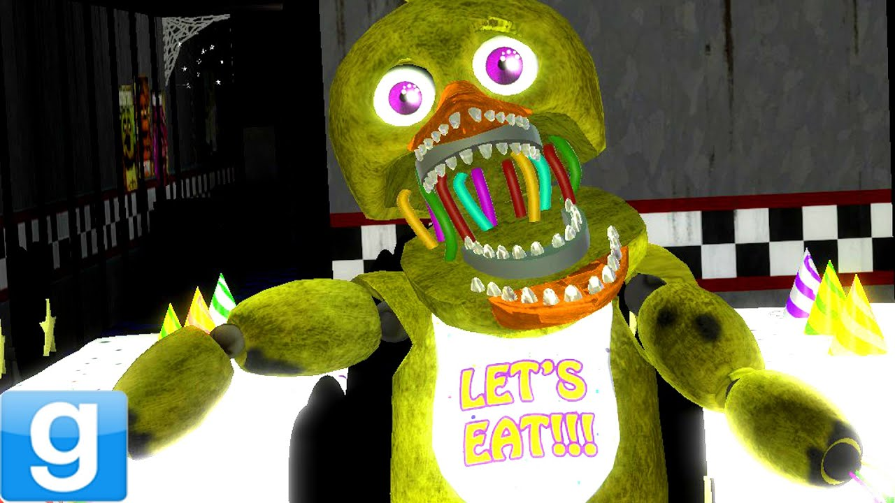 2 Player Fnaf Gmod Five Nights Freddy Gamemode - Year of