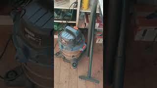 Хороший пылесос за недорого для стройки и ремонта квартиры DEXTER VOD1420SF отзыв