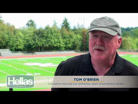 South Kitsap High School Gets Hellas' Optimal Synthetic Turf System with Helix Technology