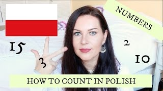 HOW TO COUNT IN POLISH + NUMBERS // ItsEwelina
