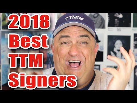 Best Baseball TTM Signers For 2018
