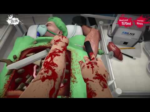 Surgeon simulator office bloopers with harlee