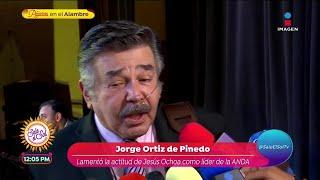 Jorge Ortiz de Pinedo habla de…