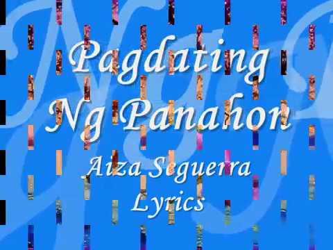 Pagdating ng panahon by aiza seguerra lyrics osias dating
