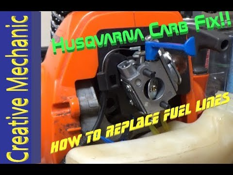 How to fix a Husqvarna weed eater (no more bogging down)