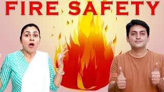 FIRE SAFETY #Moral #Family General Knowledge Aayu and Pihu Show