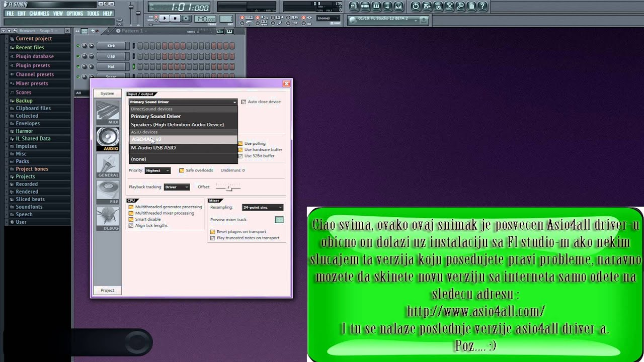 Asio driver fl studio 11 download korsika.