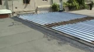 Крыша для гаража из профнастила(, 2016-07-08T18:13:26.000Z)
