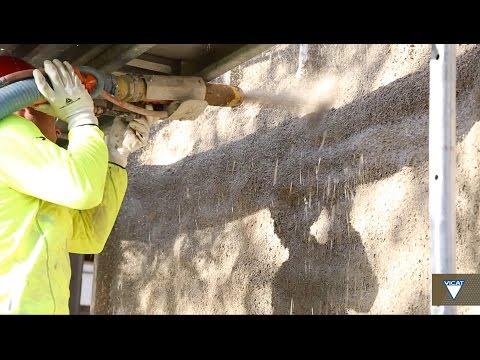 [EN] Realization of a house with a spray-applied hempcrete technique