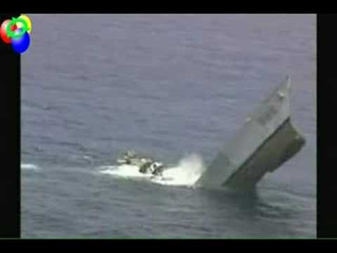 MK-48 Torpedo takes out a destroyer