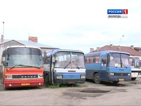 В Кирилловском районе прекращены автобусные пассажирские перевозки