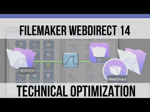 FileMaker WebDirect 14 | How to | Optimization | FileMaker V