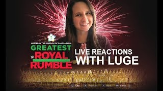 WWE Greatest Royal Rumble | Live Reactions with Luge