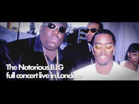 The Notorious B I G full concert live in Brixton, London 1995 #Incredible