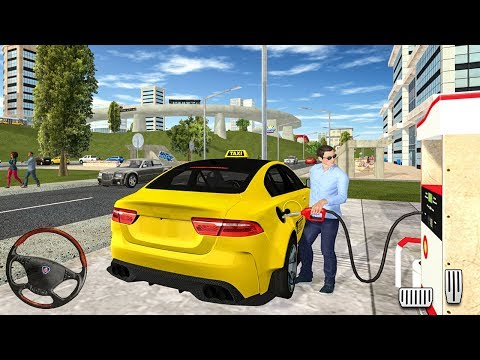 Taxi Game 2 - Yellow Cab Service Driving Simulator - Android Gameplay