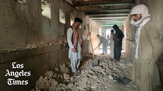 Suicide attack on Shiite mosque in Afghanistan kills at least 47