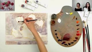 Бесплатный мастер-класс по живописи маслом