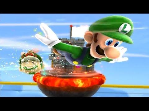 Super Mario Galaxy 2 PC 100% Mundo 1: Estrellas Verdes