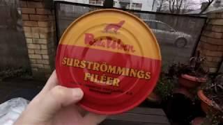 Званый ужик - дегустируем Surströmming - брызнул на камеру!!!