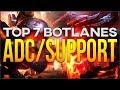 TOP 7 DUO BOT EN LA META - Mejores combos de botlane - League of Legends