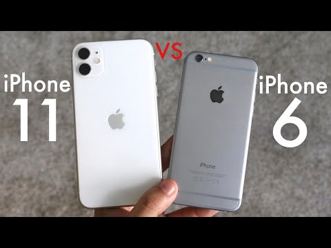 iPhone 11 Vs iPhone 6! (Should You Upgrade?) (Comparison)