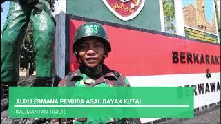 UPACARA PEMBUKAAN PENDIDIKAN PERTAMA TAMTAMA TNI AD GEL I TA.2019