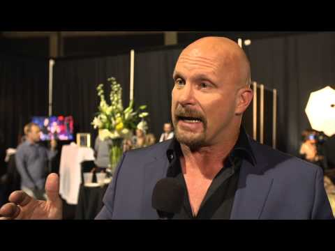 2014 CMT Music Awards Backstage with Steve Austin