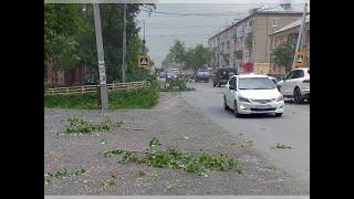 Уральский ураган в Арамиле, Свердловская область. 25 мая 2020 года