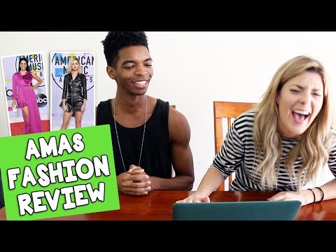 Download Youtube: AMAs FASHION REVIEW w/ KINGSLEY // Grace Helbig