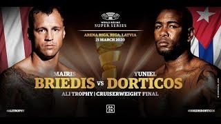 Briedis vs Dorticos - WBSS Season 2 Cruiserweight Final