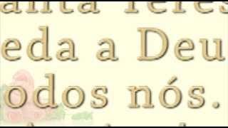 Novena Milagrosa de STA. TEREZINHA DO MENINO JESUS  - Terço das rosas