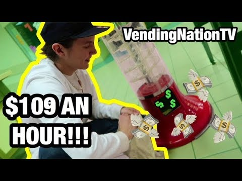 PASSIVE INCOME! Owning an Arcade  *MAKE $109 AN HOUR*   VendingNation 094