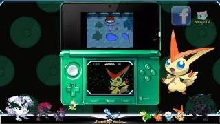 Pokémon Black & White: Movie Victini Skin & Distribution Event! Munna C-Gear Skin Code & more!